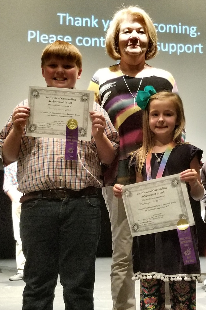 Elementary Students Win  at Eastern Region Art Competition