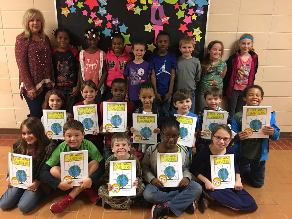 2nd Graders Become Published Authors