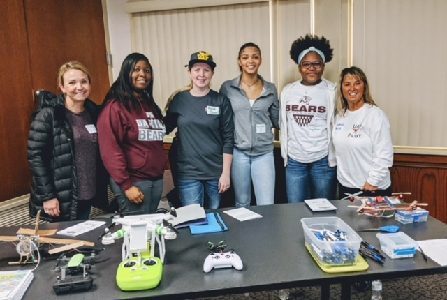 Drone Students Presented at ASU STEM Conference