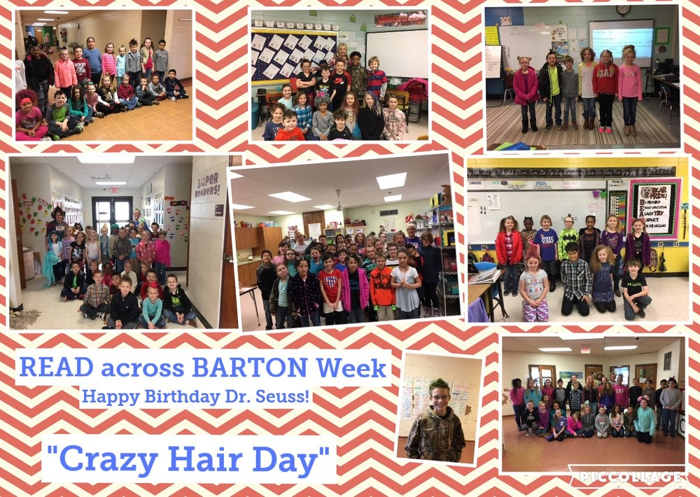Read Across Barton Week
