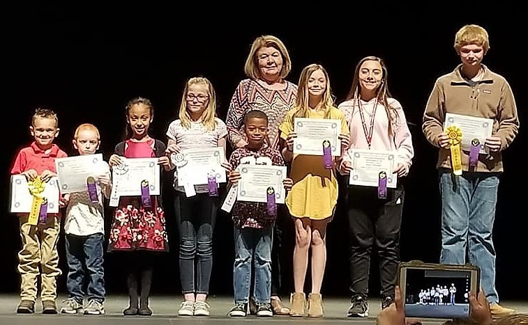 Students Place in Eastern Region Art Show & Competition