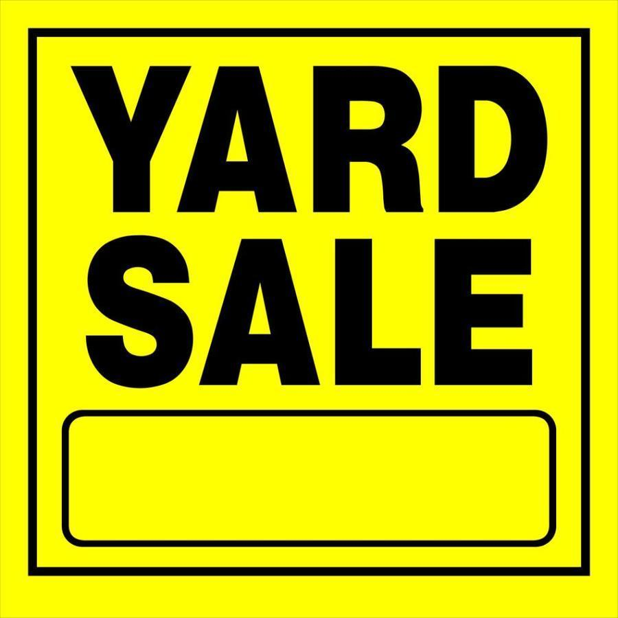 Yard Sale Information