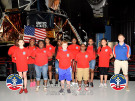 Barton Students attended Space Academy
