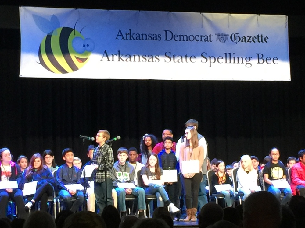 Barton Student Represented Phillips County at State Spelling Bee