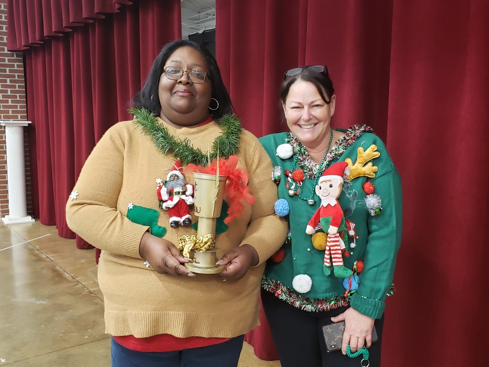 1st Annual Ugly Christmas Sweater Contest