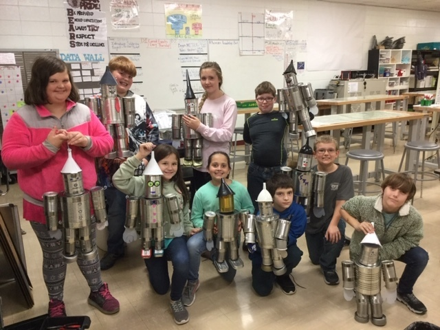 5th Grade GT Tin Man Projects