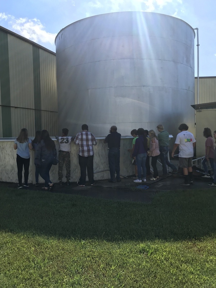 9th Graders Visit Hoffinger's Industries