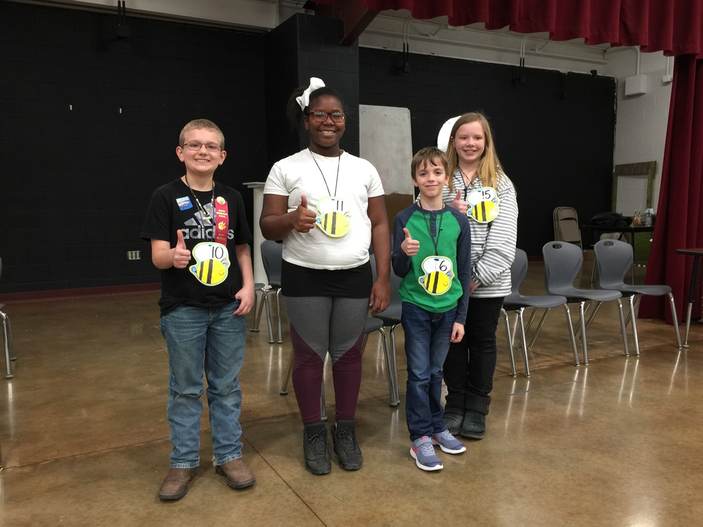 2019 BLES Spelling Bee Winners