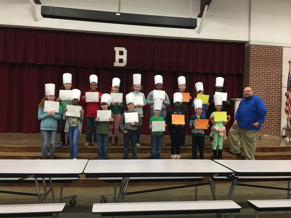 4th Graders Become Jr. Chefs