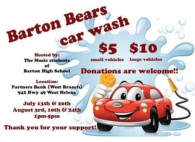 Barton Band Car Wash