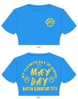 May Day 2019 T-Shirt Information