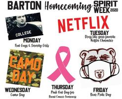 Homecoming 2020 Spirit Days