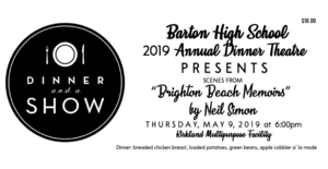 BHS Annual Dinner Theatre