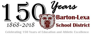 Happy 150th Anniversary Barton-Lexa School District