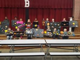 1st Grade Solar System Project