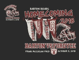 Barton Bear Homecoming 2018