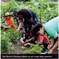The Barton Champs Make the UNICEF ACT Magazine