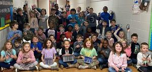PTO Gives to 2nd Graders